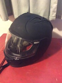 Black full-face helmet Middlebury, 06762
