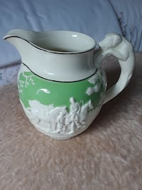 Royal Dolton Green Jug/Pitcher TORONTO