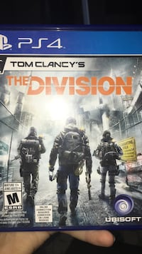 Sony PS3 Tom Clancy's The Division game case