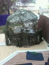 2 nylon camouflage nets for hunting and hiding Edmonton, T5A 1A3
