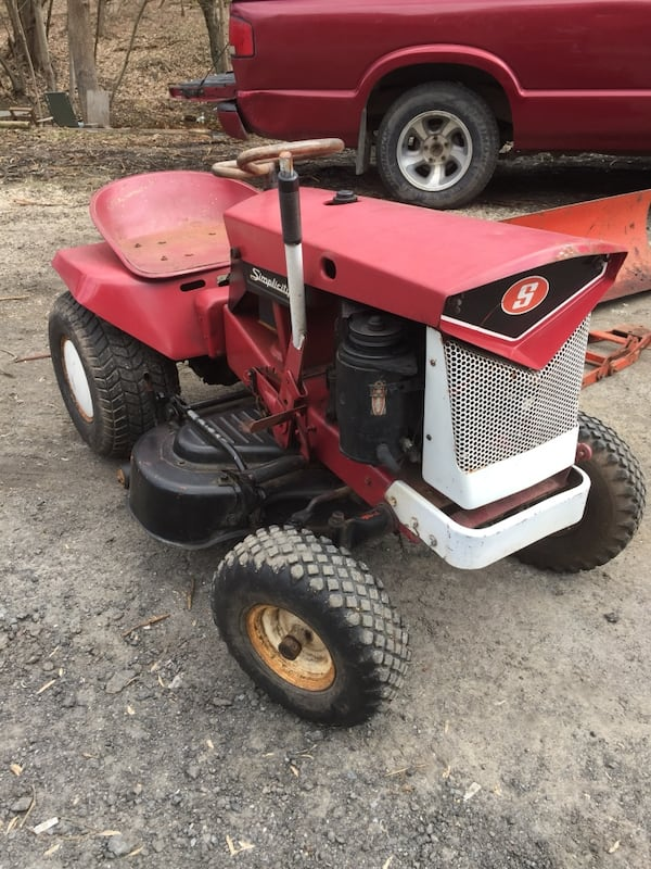 Sold Antique Lawn Tractor Plow In