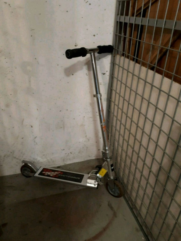 silver spark scooter