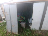 white and gray enclosed trailer Sarasota, 34234