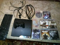 Ps3 with 8 games and controller