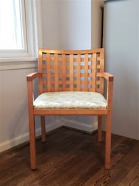 MOVING SALE!! $35 Lattice Back Chair Falls Church
