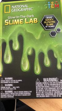 National Geographic  Glow in the dark Slime Lab Mississauga, L5R 3R4