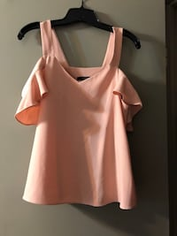 pink cold-shoulder blouse Oklahoma City, 73112