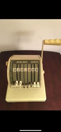 Neat Looking Paymaster Series S-550 Check Writing Machine From the 50s Baltimore, 21205
