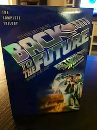 Back to the Future trilogy dvd box set