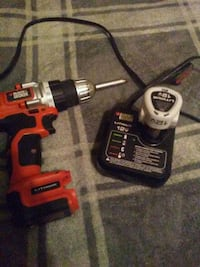 Black and decker drill 12v battery, and charger Bixby, 74008