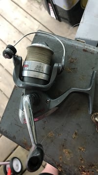 silver and black fishing reel Chilliwack, V2R 1L7