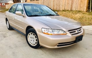 2002 Honda Accord Very Low Miles ' Clean Title ' No Check Engine Light