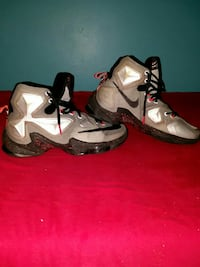 pair of white-and-black Nike basketball shoes Frederick, 21703