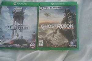 2 XBOX ONE VIDEO GAMES BRAND NEW AND NEVER USED
