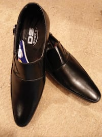 Black Stylish D.S Formal Shoes For Men  ISLAMABAD