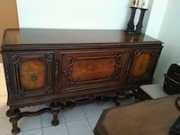 Antique sideboard with table and chairs Mississauga, L5K 2E3