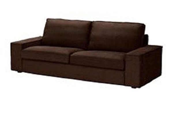 Dark brown sleeper sofa