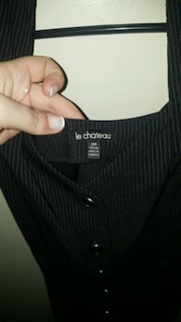 Le chateau button up dress size small Toronto, M8V 1G7