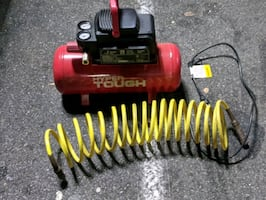 Hyper tough air compressor 100 lb PSI