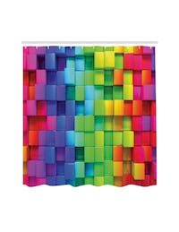 Rainbow Shower Curtain Set Leesburg, 20176