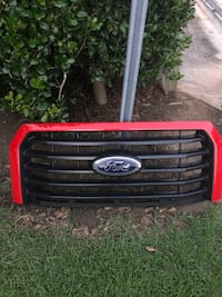 Red and black car grille Greenville, 27858