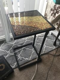 Mosaic couch table