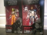 "Star wars black series 6"" Rex and Hera Richmond Hill, L4C 0H9"