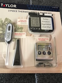 New Taylor 3 piece Thermometer and timer set Albuquerque, 87114