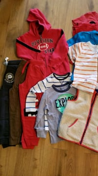All boys size 5T clothes