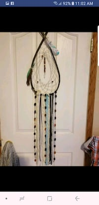 white and green floral fringe scarf Red Deer, T4R 2W9