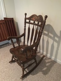 Solid wood rocking chair Manassas, 20110