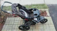 baby's black and gray jogging stroller Richmond Hill