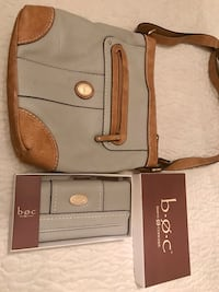 Born leather cross body and wallet Charleston, 25314