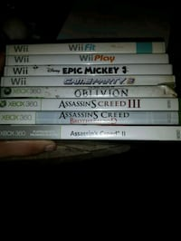 wii and xbox 360 games London, N5Z 1E6