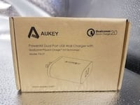Aukey Dual Port USB Charger Eastvale