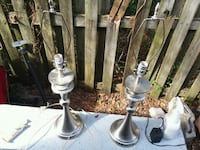Set of stainless steel lamps 778 mi