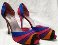 Women Opentoe Multi colored Party Shoes Linthicum Heights, 21090