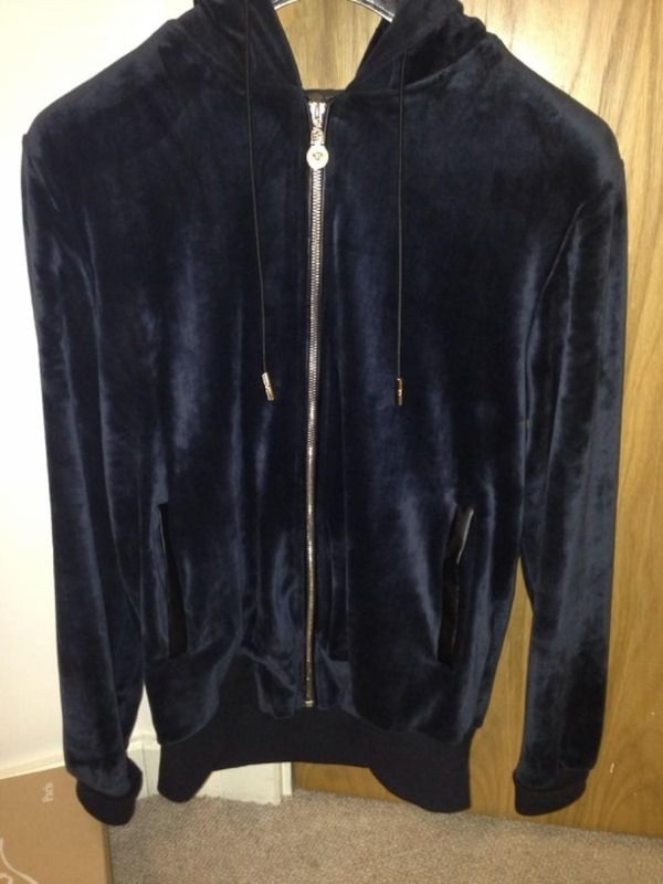 limited guantity official store look for Versace Velour Sweatsuit M
