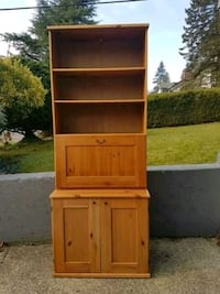 Solid Wood Drawer Cabinet Buffe overall size 32 W
