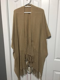 brown open cardigan Kelowna, V1X 7M8