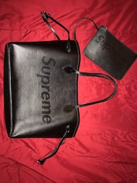 Louis Vuitton x Supreme Epi Leather Never Full Medium Tote Bag