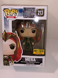 Justice League Mera HotTopic Exclusive Brand new Niceville, 32578