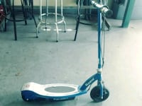 blue and white Razor kick scooter New Port Richey, 34654