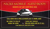 Nicks autobody  Beltsville