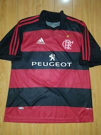 Flamengo FC Adidas Home Soccer Jersey Size L
