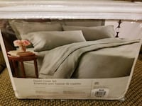 Bed cover set. Brand new. King size. Toronto, M2N 6H9