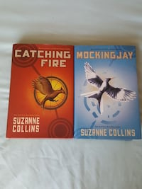 two assorted Suzanne Collins books