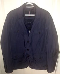 Tommy Hilfiger Men's Poly-Twill Four-Pocket Blazer Jacket Size XL London