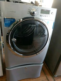 white front-load clothes washer Santa Ana