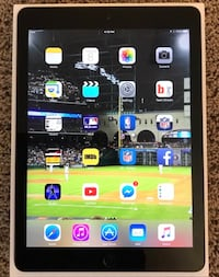 Apple iPad Air 1st Gen. 16GB, Wi-Fi, 9.7in - Space Gray Silver Spring, 20910
